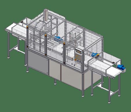 Автоматическая линия: вырезание сердцевины и резка порций фиксированного веса, модель LPR05