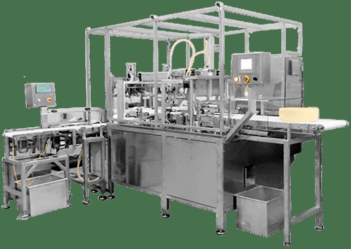 Автоматическая линия: вырезание сердцевины и резка порций фикс. веса модель LPR08