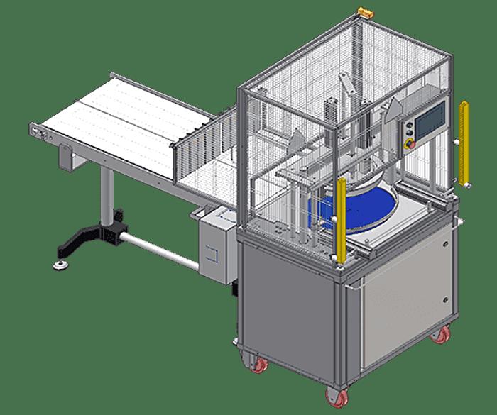 Роторная сырорезка с системой эжекции мод. PR02