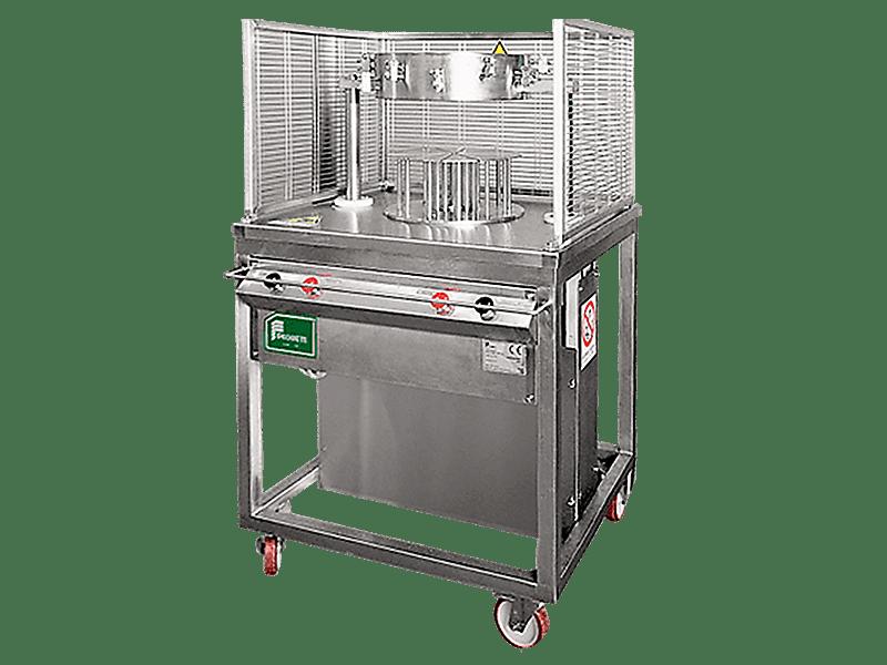 Пневматическая порционная сырорезка-делитель PS01 для круглых сыров