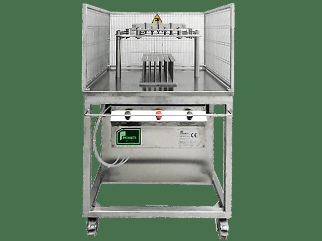 Пневматическая порционная сырорезка-делитель PS01-01 для блочных сыров