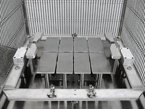 Пневматическая сырорезка с системой центрирования модель PSC01