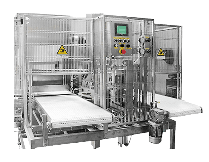 Компактная скоблильная машина модель RS02