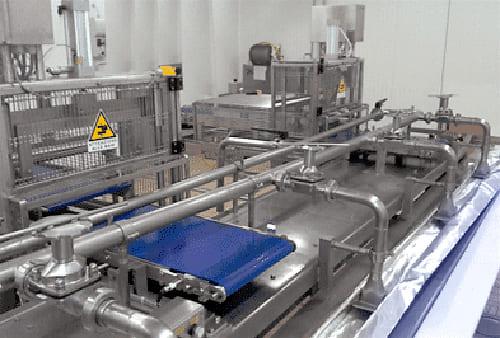 Автоматическая линия для наслаивания с фиксированным дозатором-резервуаром модель SGM03