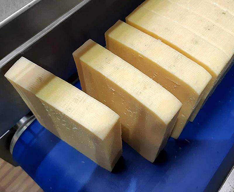 Полуавтоматическая гильотина TXF03 для прямоугольных сыров