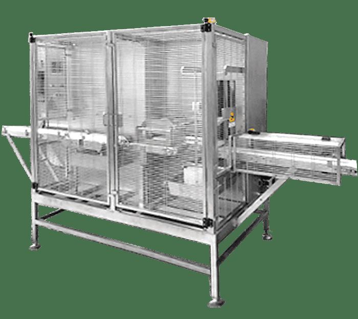 Автоматическая линия для резки сыра «Фета» на порции фиксированного веса модель TXF05